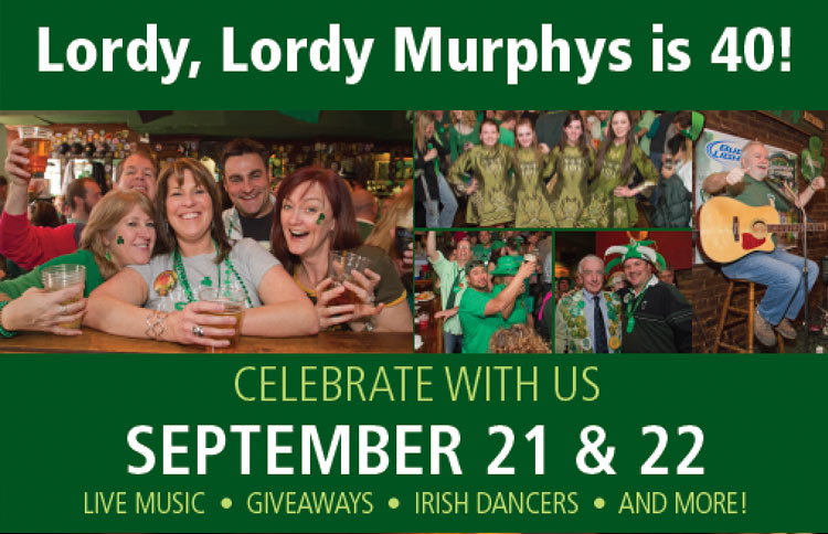 murphys alexandria 40TH ANNIVERSARY PARTY